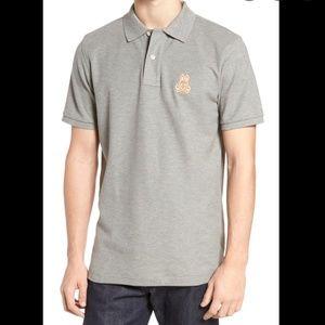 Psycho Bunny Alto Bunny Polo T-Shirt, Size 3(XS)